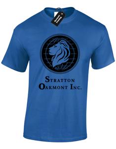 STRATTON OAKMONT MENS T SHIRT MOVIE WALL STREET MONEY DRUGS