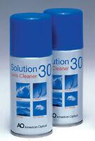 Solution 30 Lens Cleaner Aerosol 150ml x 2 FREEPOST