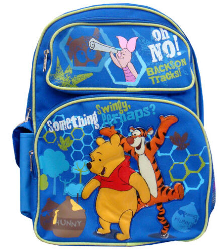 """A00057 Winnie the Pooh Large Backpack 16/"""" x 12/"""""""