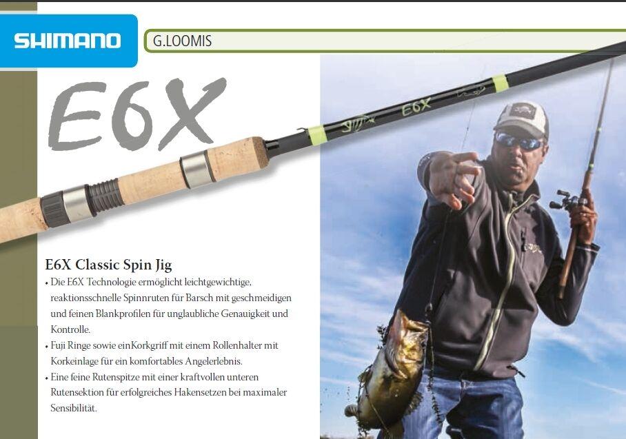 G-Loomis E6X Classic Spin 842S SJR