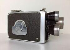 Eastman Kodak Brownie 8mm Movie Camera Turret f/1.9 3 Lens Made in USA 1955