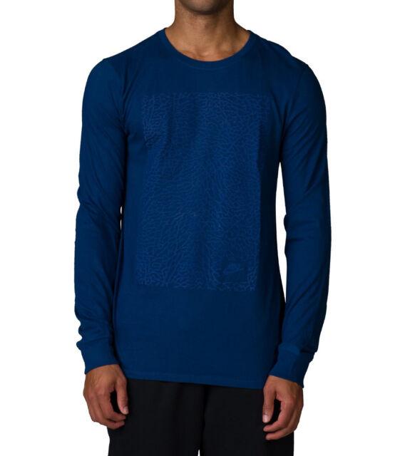 81e3d912ed0229 SZ LARGE Nike Men s Air Jordan Long Sleeve Elephant Print T-Shirt 823720-432