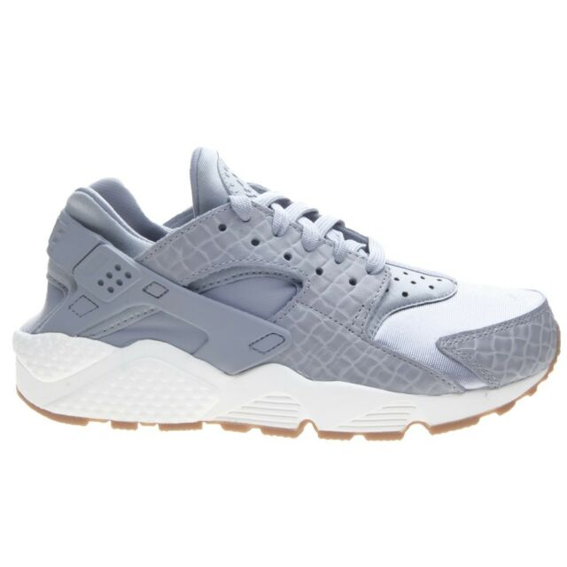 Nike Air Huarache Premium Donna Sneaker Scarpe da Ginnastica Grigio 683818 012