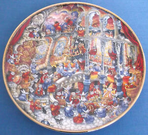 FRANKLIN MINT ROYAL DOULTON LIMITED EDITION HOLY CATS PLATE BILL BELL - Crook, Durham, United Kingdom - FRANKLIN MINT ROYAL DOULTON LIMITED EDITION HOLY CATS PLATE BILL BELL - Crook, Durham, United Kingdom