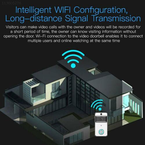 3A35 Video Doorbell Wifi DoorBell Camera Wifi Night Vision 720P HD Intercom
