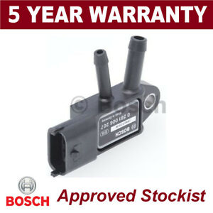 Bosch-DPF-Exhaust-Pressure-Sensor-Diesel-Particulate-Filter-MAP-0281006207