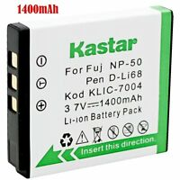 1x Kastar Battery For Kodak Klic-7004 V1073 V1273 V1233 V1253 Zi8 Zx3 Zi12