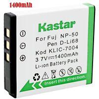 1x Kastar Battery For Kodak Klic-7004 V1073 V1273 V1233 V1253 Zi8 Zx3 Zi12
