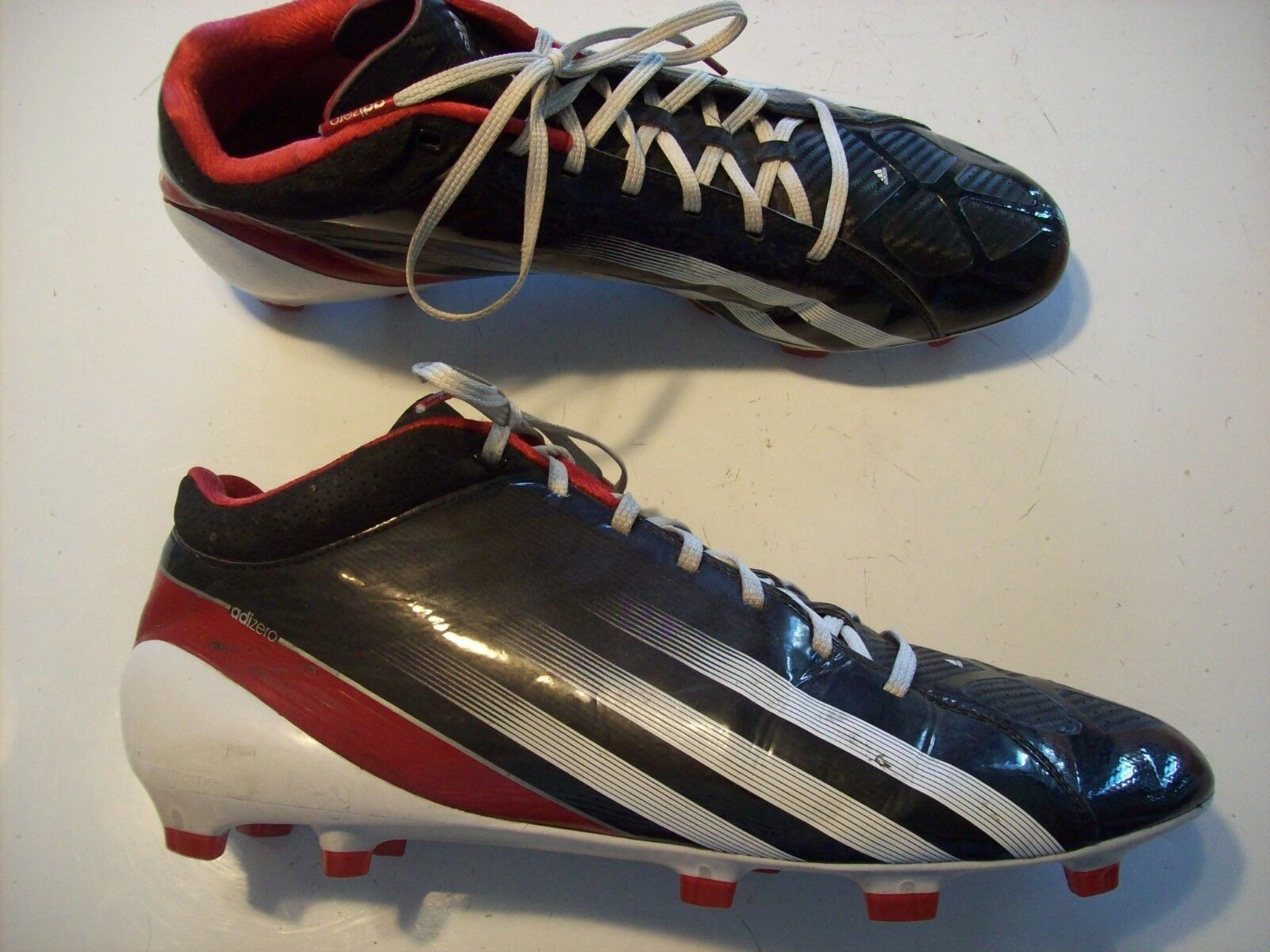 Adidas Adizero Sprint Frame G47836 Football Cleats Black White Shoes Comfortable Wild casual shoes