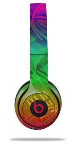 612545fd2bdba Details about Skin Beats Solo 2 3 Rainbow Butterflies Wireless Headphones  NOT INCLUDED