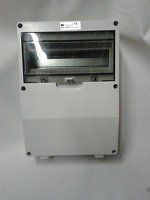 Caravan conectarlo Ip65 Mcb RCD Gabinete adaptable Caja de los Consumidores Unidad Gabinete