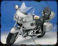 Bmw R1200 Cl A4 Photo Print Motorbike Vintage Aged