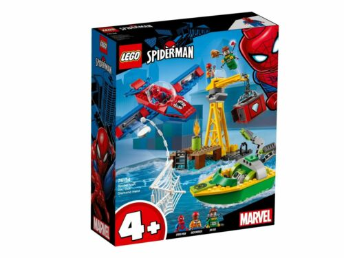 LEGO MARVEL SUPER HEROES SPIDER-MAN diamanti rapina con Doc Ock 76134
