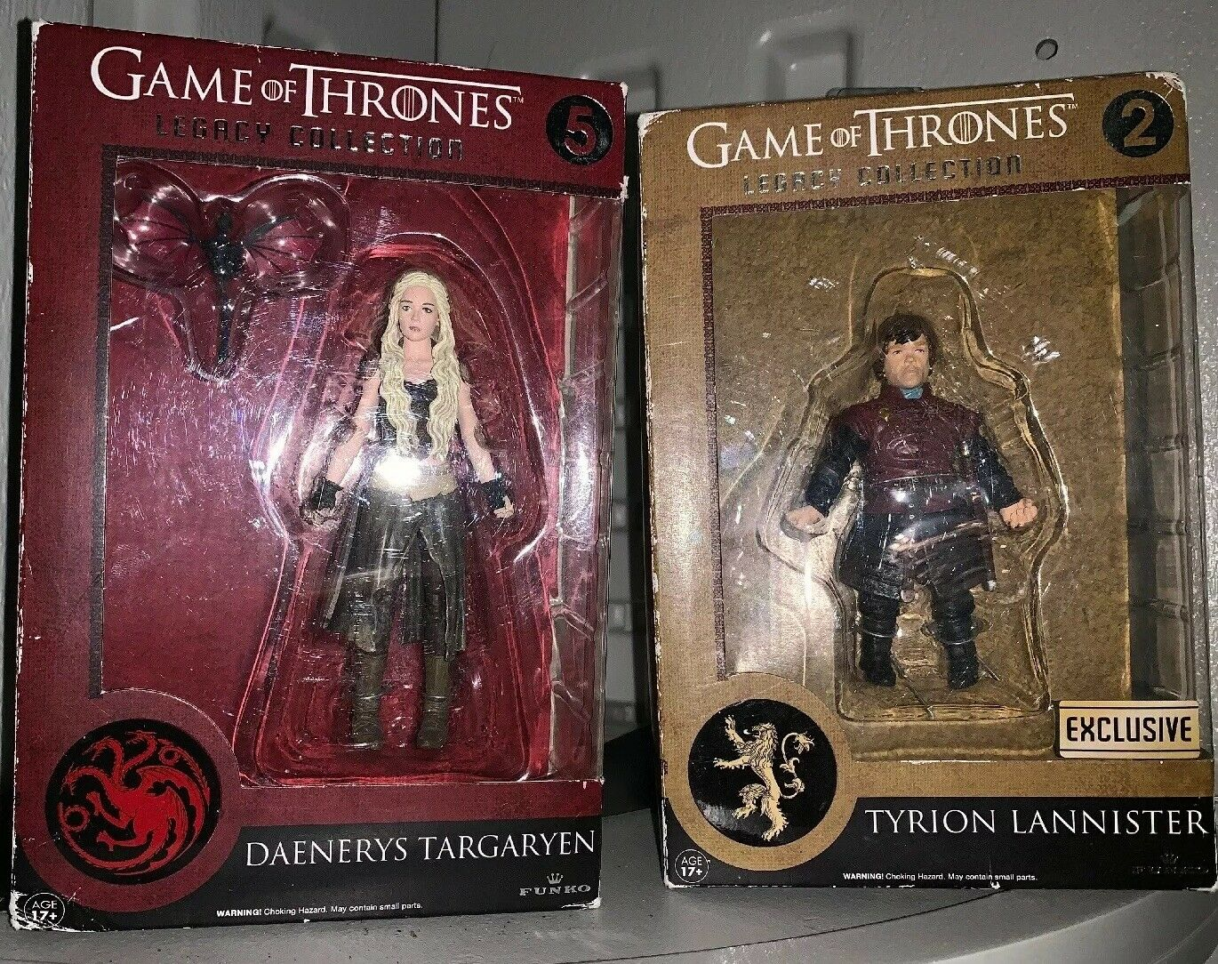 "DiverdeimentoKO EXCLUSIVE "" gioco OF THRONES - GOT ""  DAENERYS & TYRION LEGACY COLLECTION  negozio all'ingrosso"