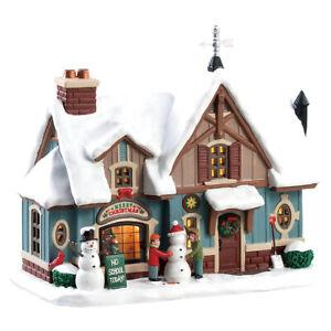 Lemax Christmas Village - Snow Day! - Caddington Village, 2018, RARE! NEW!