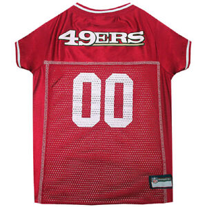 San-Francisco-49ers-Officially-Licensed-NFL-Pets-First-Dog-Jersey-Sizes-XS-XXL