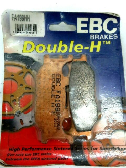 EBC Double-H Sintered Front Brake Pads FA199HH