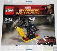 2013 Lego Marvel 30168 Iron Patriot (first Version) Promo Minifigure Sealed