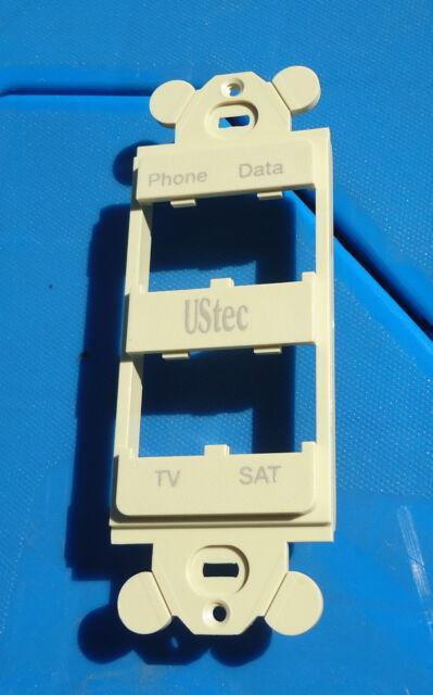 CFG4WH 4-Port Decora Frame Panduit GFCI White
