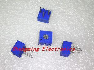 100pcs 3362P-203 20K Ohm 3362P Trimpot Trimmer Potentiometer