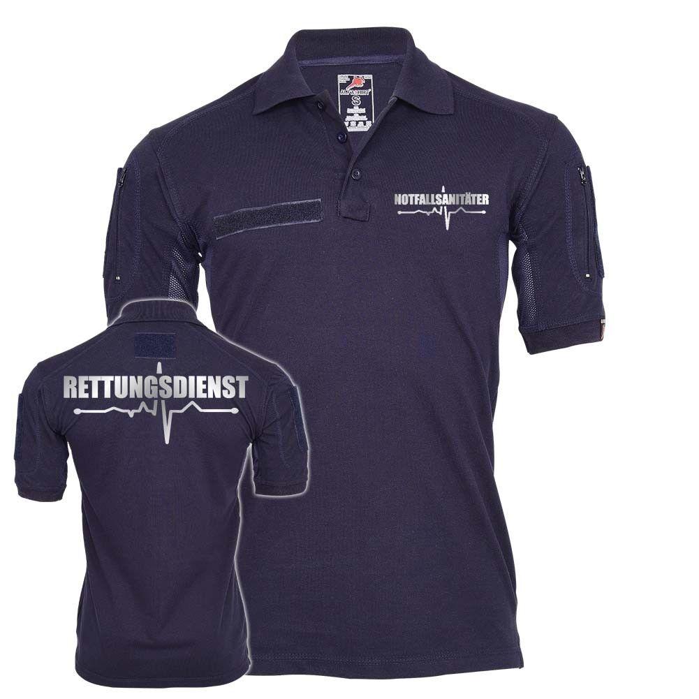 Tactical Polo Notfallsanitäter Rettungsdienst Reflektierend Einsatz Beruf  25519