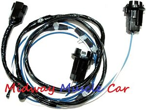 Chevy Truck Parking Turn Signal Light Hood Extension Wiring Harness
