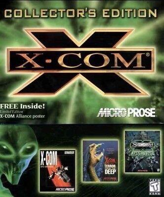 X-COM UFO DEFENSE /& TERROR FROM THE DEEP 1Clk Macintosh Mac OSX Install