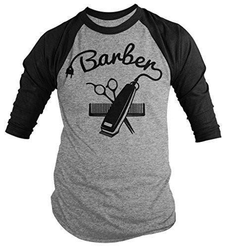Raglan 3 tondeuses Shirts kapper mouw 4 Sarah Heren shirt door OHgPaH