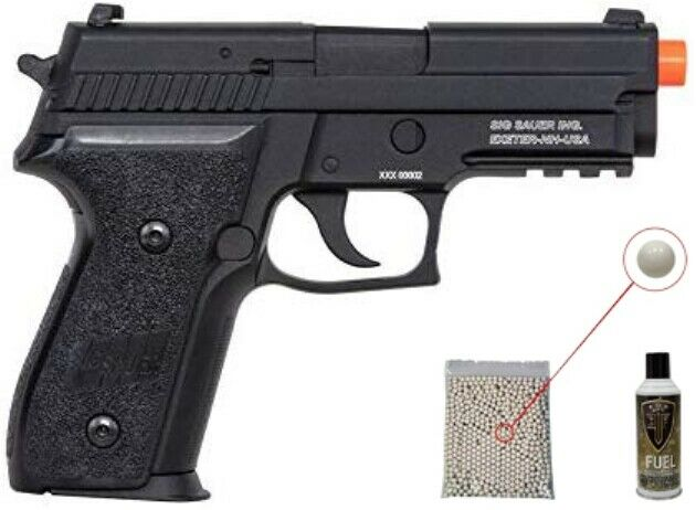KJW Softair green gas SIG P226 KP-01 magazine airsoft blowback pistol GBB