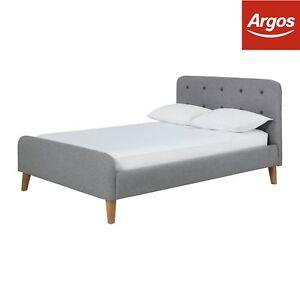 0e317c607ba4 Argos Home Ashby Small Double Bed Frame - Grey | eBay