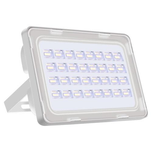 10X 100W LED Fluter Flutlicht draussen Außen Strahler Scheinwerfer IP65 Kaltweiß