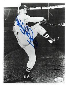 Mickey-McDermott-Signed-Boston-Red-Sox-Baseball-8x10-Photo-JSA-Auth-N64607