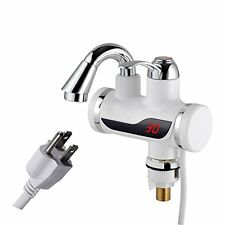 A.B Crew 110V Tankless Electric Hot Water Heater Faucet Kitchen Heating Tap #2V8