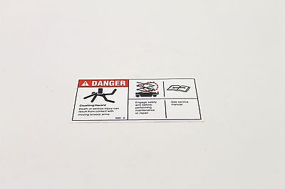 New Genie Decal Other Heavy Equipment Parts & Accessories genie P/n: 82561, 82561gt