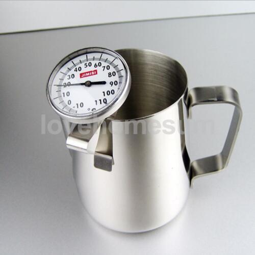 Thermometer Teethermometer für Kaffee Milch Edelstahl