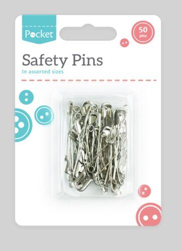 Épingles de sûreté-Pack de 50