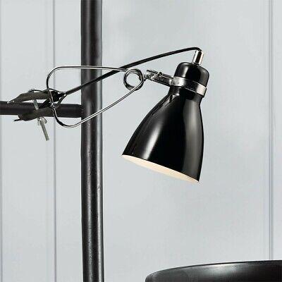 Luxus Klemmlampe Garagen Tischleuchte Keller Arbeitsbeleuchtung Klemmspanne 7cm