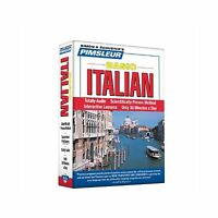 Pimsleur Italian Basic Course - Level 1 Lessons 1-10 Cd: Learn ... Free Shipping