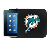 Miami Dolphins Ipad 10 Netbook Tablet Sleeve