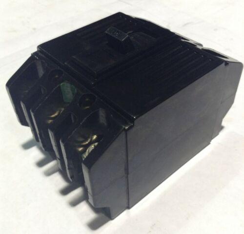 TQ32020 General Electric GE Type TQ Circuit Breaker 3 Pole 20 Amp 240V