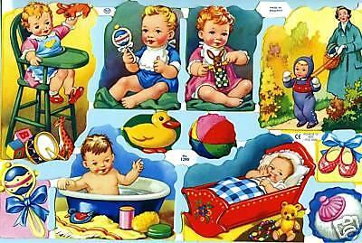 Babys Babies #glanzbilder# Mlp 1290 Baby....süüüüßer Bogen Von Mlp Eine Lange Historische Stellung Haben