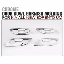 Chrome Door Handle Cover Trim Molding Set K448 8P for KIA 2006-2014 Sedona