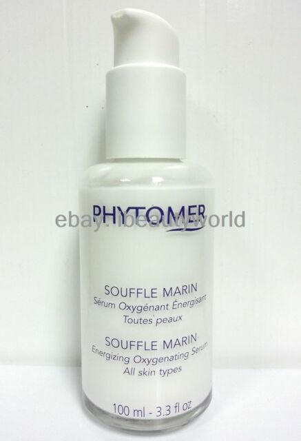 Phytomer Souffle Marin Energizing Oxygenating Serum 100mlMade in France #ntc