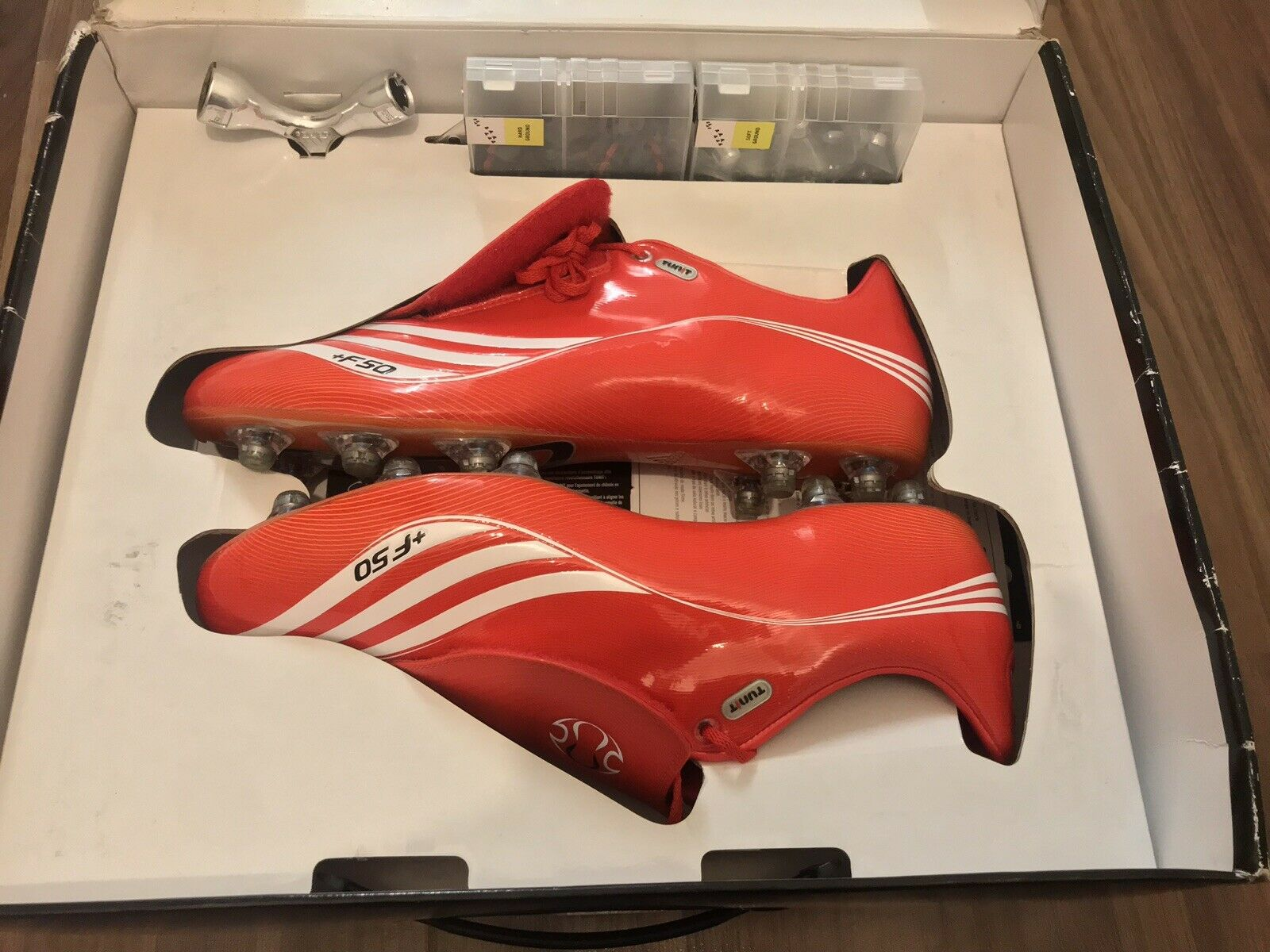 ADIDAS +F50 TUNIT, Football Boot For All Season, ALL CONDITION. (BRAND NEW)