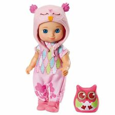 Zapf MINI CHOU CHOU Birdies Puppe HOLLY 12cm mit Eule Geschenk Neu 920206