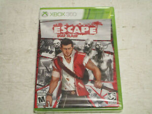 Escape-Dead-Island-for-Xbox-360-Brand-New-Factory-Sealed-Free-Shipping