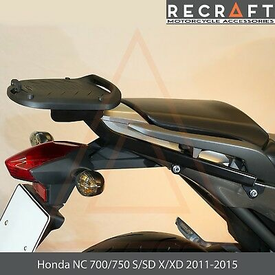 Honda NC700//750 X//S XD//SD 2011-2015 Mounting Rack Plate For Top Case ver.1 Shad