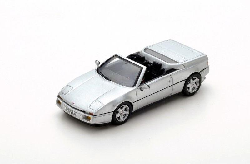 toma S2245 Spark 1 43  Venturi transcup transcup transcup 1990 Plata parte súperior abierta con interior negro  alta calidad general