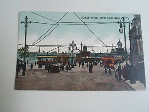§r54 Chaussure Ancienne Series Unposted Carte Brighton Postale New willan a Cheval xPrv8P