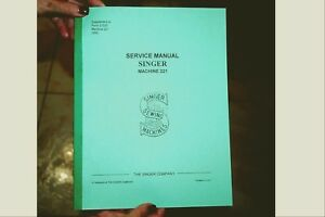 service manual for singer featherweight sewing machines 221 and 221k rh ebay com singer featherweight 221 instruction manual singer featherweight service manual pdf